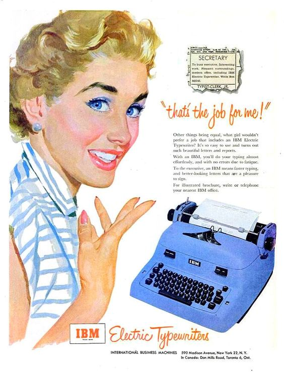mad men typewriter