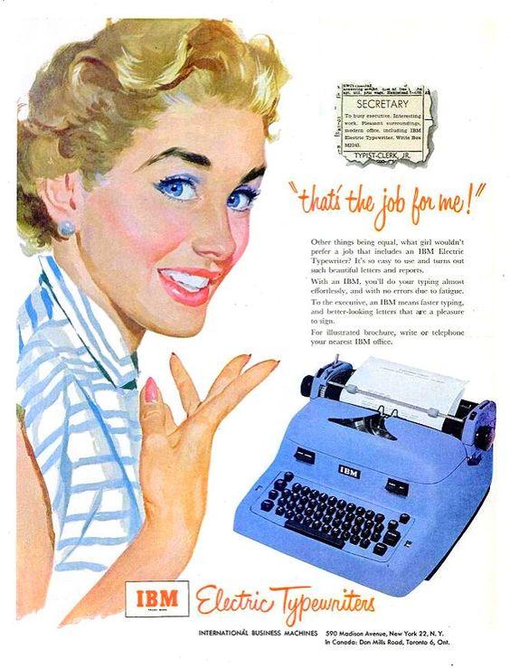 mad men typewriter