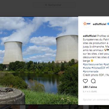 Capture instagram nucléaire