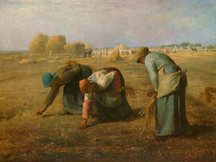 les glaneuse millet